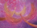 Na nebi / 2011 olej 30 x 40 cm - prodáno