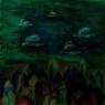 Hlídka / 2006 olej 80 x 80 cm - prodejné