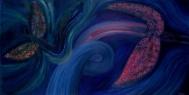 Promiň pospíchám / 2005 olej 75 x 145 cm - prodejné