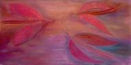 Setkání / 2005 olej 70 x 140 cm - prodáno