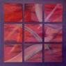 V devátém nebi / 2006 olej 120 x 120 cm - prodejné