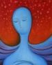 Hlava / 2008 olej 25 x 30 cm - prodáno