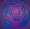 Návrat / 2008 olej 70 x 70 cm - prodejné