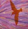 Ptáci III / 2012 olej 65 x 65 cm - prodejné