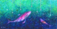 Tak kterou / 2012 olej 80 x 160 cm prodejné