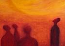 Zázrak / 2007 olej 50 x 70 cm
