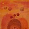 Žlutá krajina / 2006 olej 40 x 40  cm - prodáno
