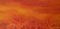 Stromy / 2008 olej 80 x 160 cm - prodáno