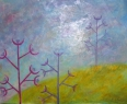 Po ránu / 2013 olej 70 x 85 cm prodejné