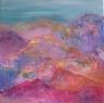 Snová krajina / 2010 olej 50 x 50 cm  - prodejné