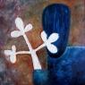 Trofej / 2010 olej 70 x 70 cm  - prodejné