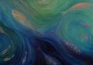 Úlovek / 2008 olej 70 x 100 cm - prodáno