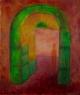 Brána / 2007 olej 55 x 65 cm - prodáno