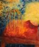 Červený pták / 2008 olej 60 x 70 cm - prodáno