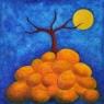 Pahýl / 2007 olej 33 x 33 cm - prodáno