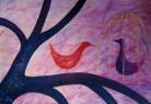 Dialog / 2011 olej 100 x 70 cm - prodejné