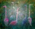 Jdeme správně / 2011 olej 130 x 210 cm - prodejné