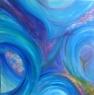 Lovec / 2010 olej 60 x 60 cm - prodáno