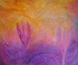 V zahradě / 2010 olej 70 x 85 cm - prodáno