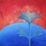 Bodlákovec / 2009 olej 50 x 50 cm - prodejné