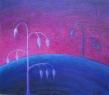 Oves zimní / 2009 olej 60 x 70 cm - prodejné