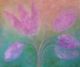 Poupěťovka tulipánovitá / 2008 olej 50 x 60 cm - prodejné