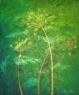 Rozprsk hvězdičkovitý / 2009 olej 50 x 60 cm - prodáno