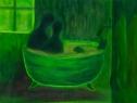 Rozhovor / 2005 olej 30 x 40 cm