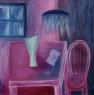 Nedočteno / 2005 olej 50 x 50 cm - prodáno